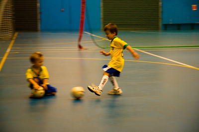Declan Playing Futsal