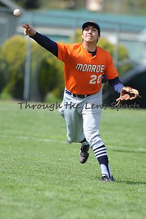 Monroe vs. Oakland HS Baseball