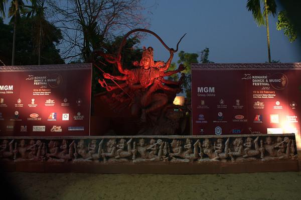 Konark  Dance & Music  Festival 2012