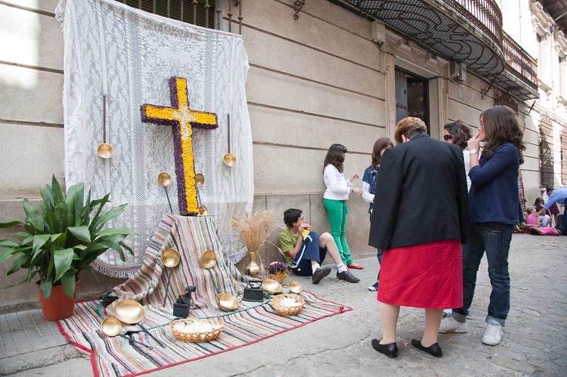 Cruz de Mayo (May Cross), town of Valencia de Alcantara, province of Caceres, autonomous community of Extremadura, southwestern Spain
