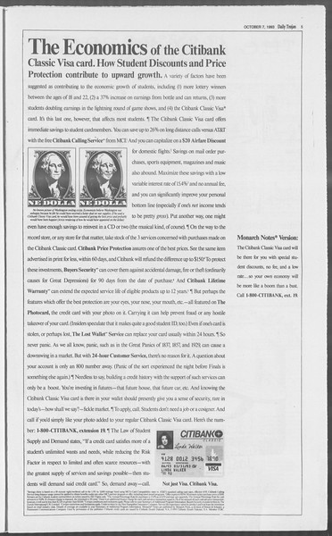 Daily Trojan, Vol. 121, No. 27, October 07, 1993