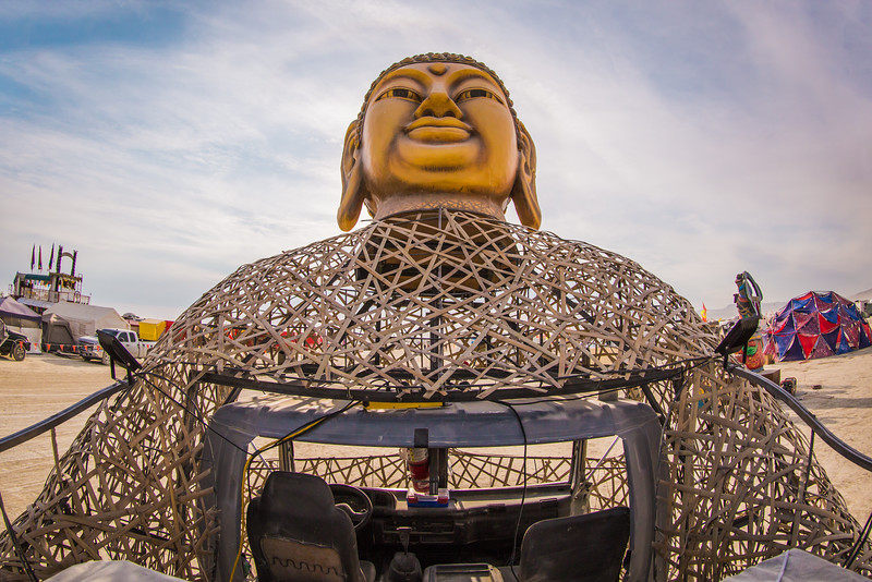 Buddha Hand Art Car