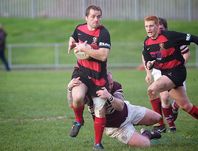 Cheltenham Rugby V Swanage & Wareham 17th December 2011