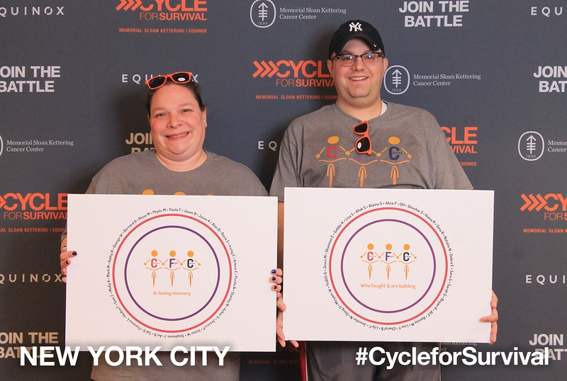 02/09/2018 Cycle for Survival Rockefeller Center