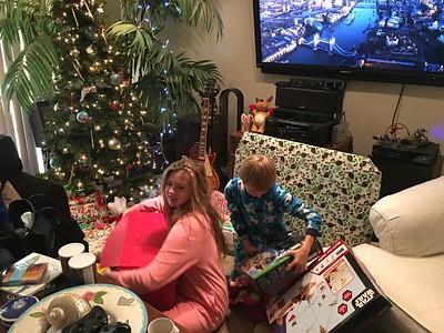 Christmas Morning at Dads