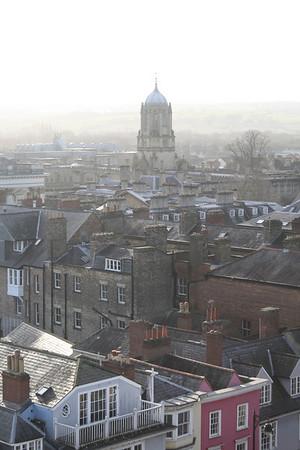 Oxford von oben