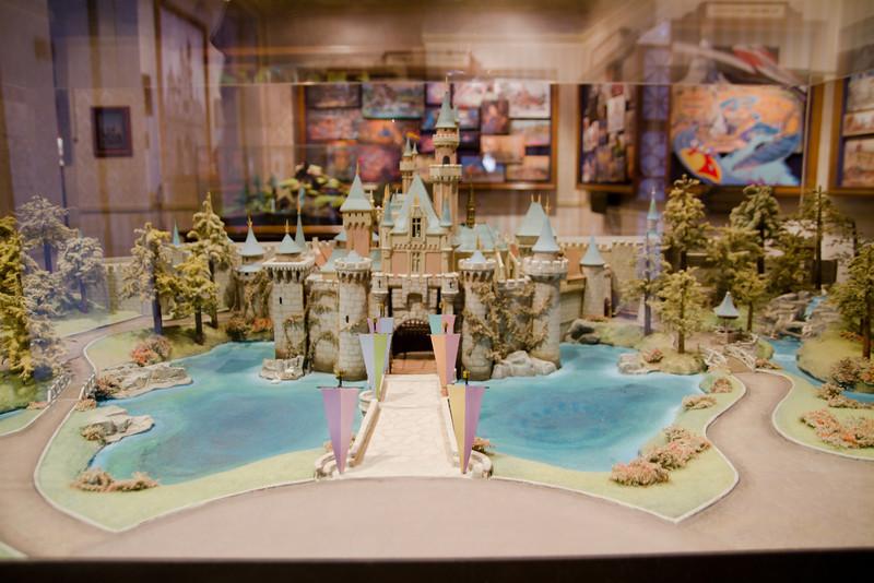 Sleeping Beauty's Castle Model