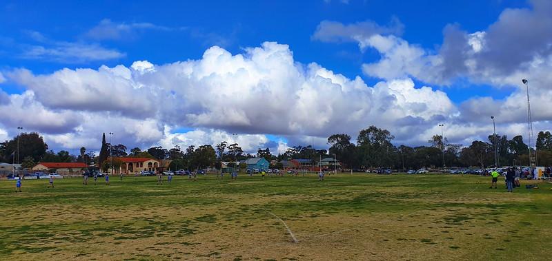 Saturday clouds