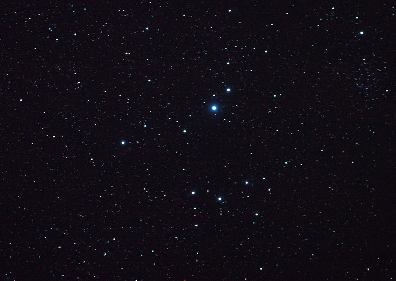 Caldwell 102 - IC2602 - Southern Pleiades or Theta Carina Cluster - 23/2/2011 (Processed single in-camera dark)