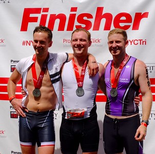 Fred NYC triathlon July 2016