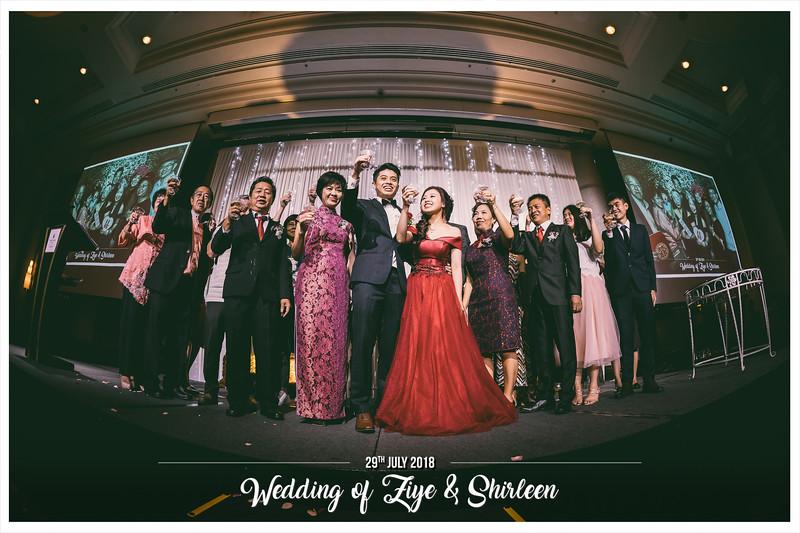 Wedding of Ziye & Shirleen | © SRSLYPhotobooth.sg