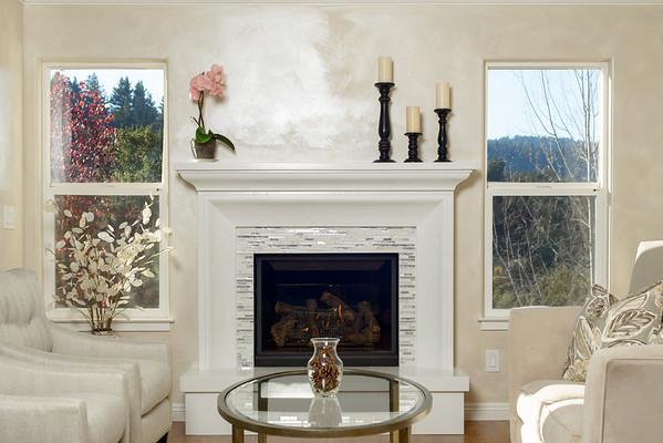 Concrete Craftsman - Custom Fireplace - Ben Lomond