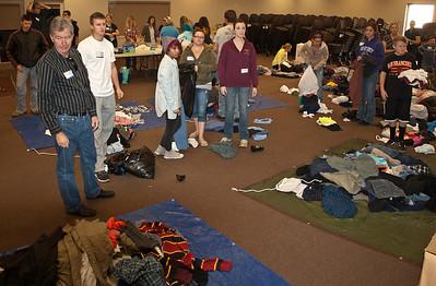 Homeless Outreach - November 2013