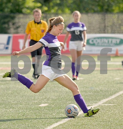 Downers Grove North girls soccer at state