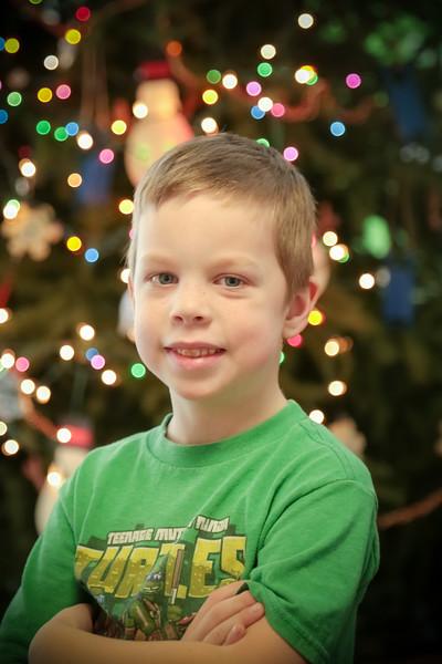 Christmas Bokeh First Grade