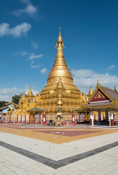Eindawya Pagoda in Mandalay, Myanmar - Burma