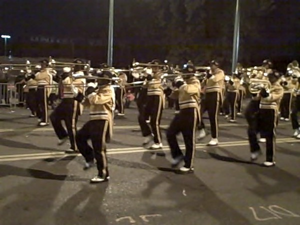 Whitehaven High Band, Parade.jpg