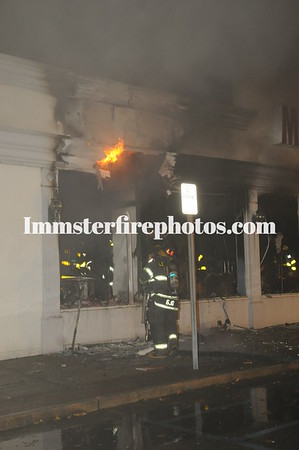 LEVITTOWN FD BUILDING FIRE
