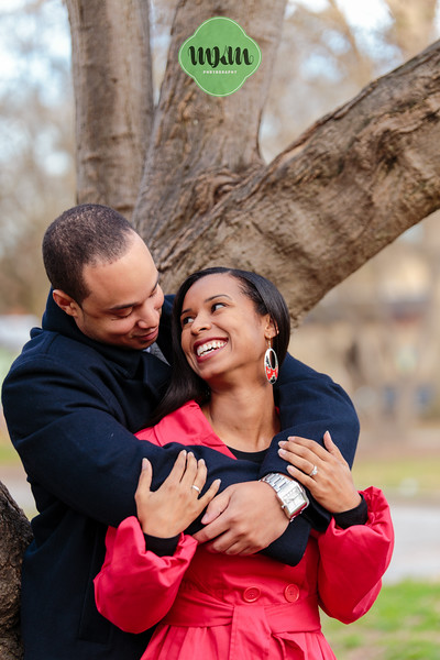 Cozy, Sweet, Downtown Raleigh Winter Engagement Photography - MKM Photography (6).jpg