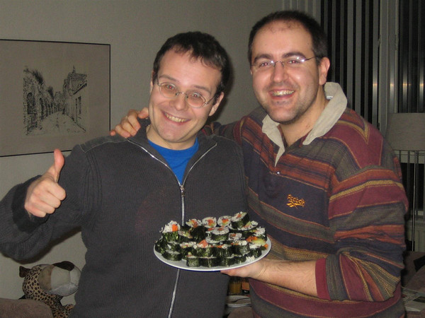 2006.02 Por Maastricht con Claudio y Silvia
