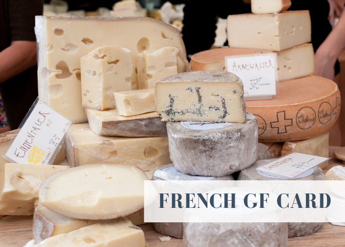 france gluten free card