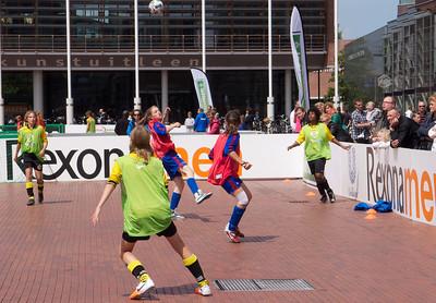 Straatvoetbal Stadsplein 2012 Amstelveen