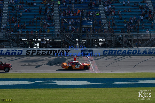 NASCAR 2018 Chicagoland Saturday