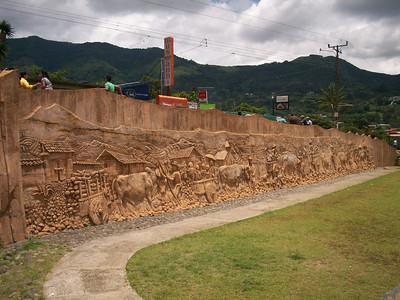 SAN ANTONIO de Escazu, Costa Rica - A sweet little Pueblo up in the mountains above Escazu