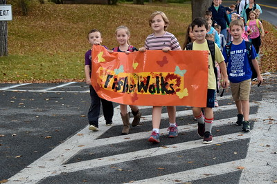 Fisher Walks To School I photos by Gary Baker