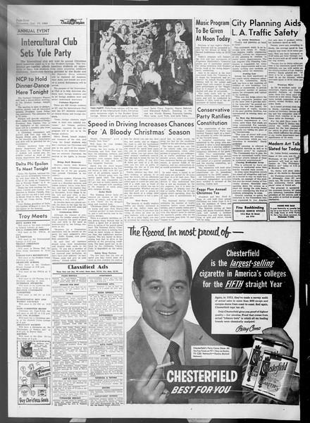 Daily Trojan, Vol. 45, No. 61, December 17, 1953