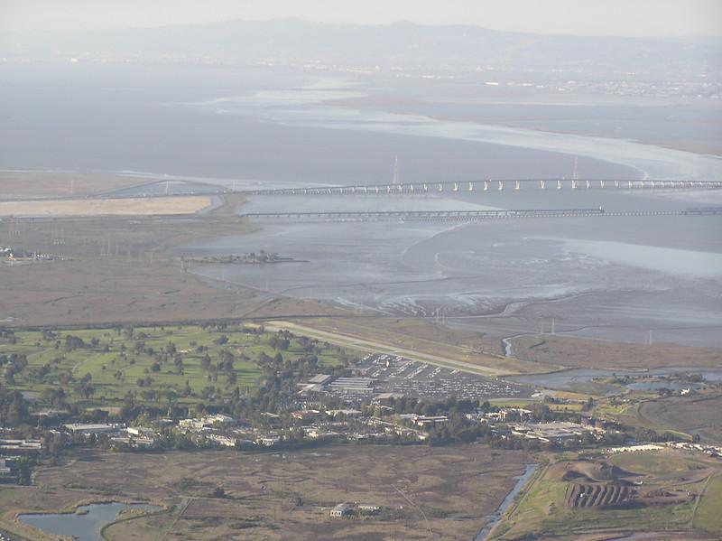 Palo Alto airport, Dumbarton bridge