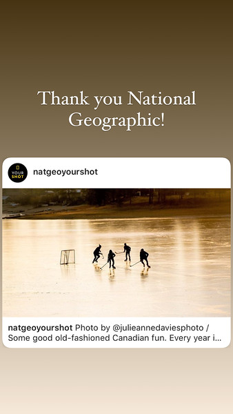 National Geographic YourShot, December 2020