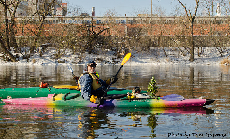 New Years Day Paddle - Peter  Photo by Tom Harman
