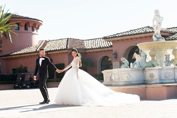 Diana & Chris' Wedding: Bride and Groom