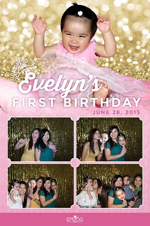 Evelyn's First Birthday (prints)