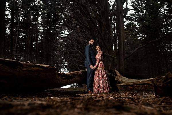 Kavita & Jagdeep's After Shoot Portraits