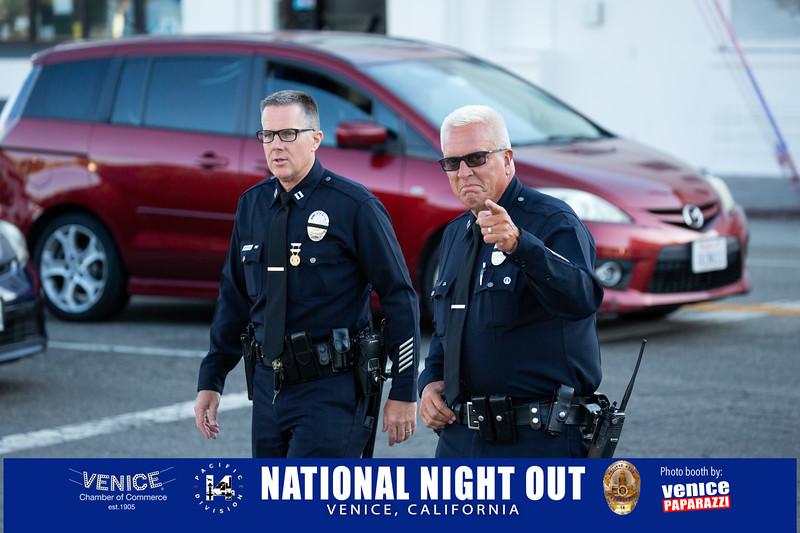 LAPD's National Night Out. Venice, California. Photo by VenicePaparazzi.com