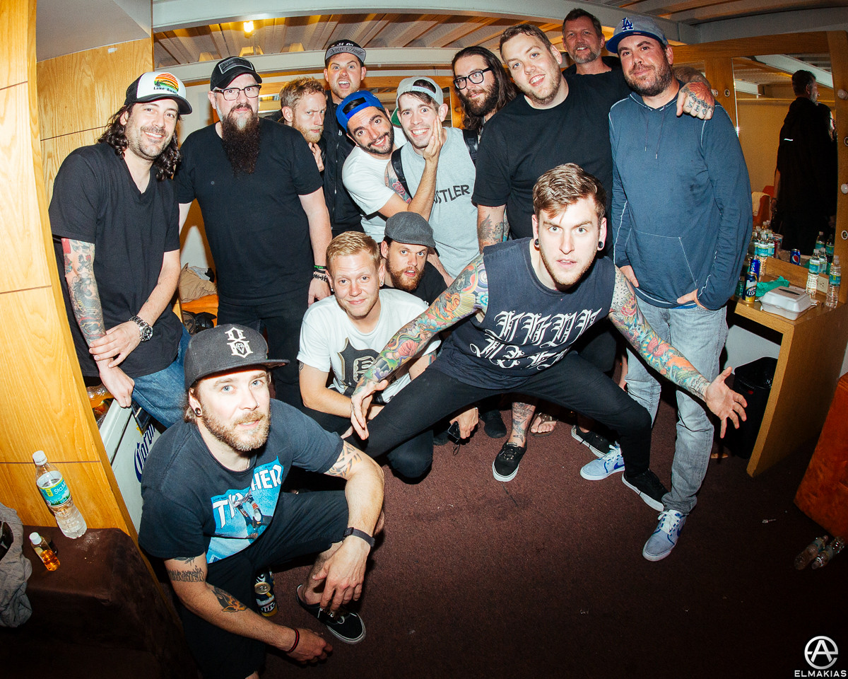 A Day to Remember band and crew by Adam Elmakias