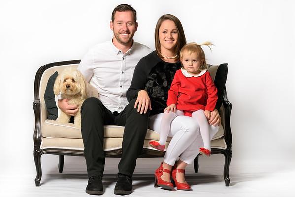 Tyler, Katie and Ellie (Family Photography) @ Private Studio, Santa Cruz