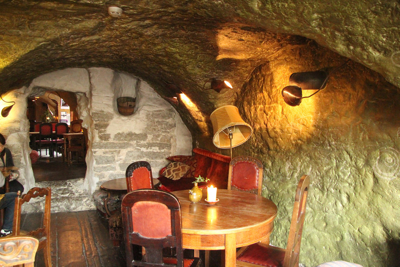 One of the best cafes in town for ambiance, Kehrweider's is a snug warren of cave-like stone rooms filled with quirky, old furniture. -Tallinn, Estonia