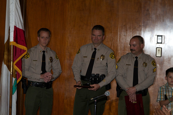 South Gate PD Promotion Ceremony 2012