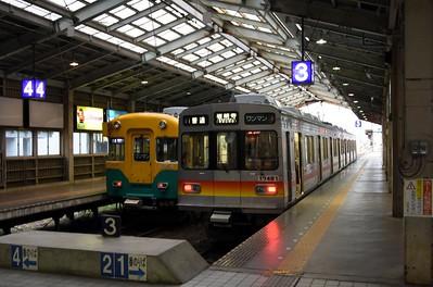 Toyama Dentetsu station, 2019