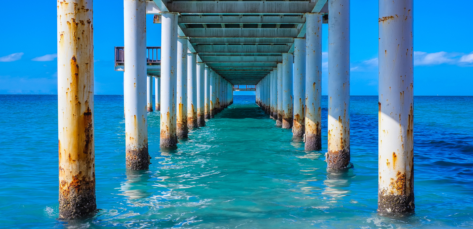 Under the Pier (Pano)