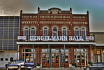 Sengelmann Hall in Downtown Schulenburg, Texas
