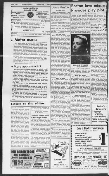 Summer News, Vol. 2, No. 8, July 11, 1947