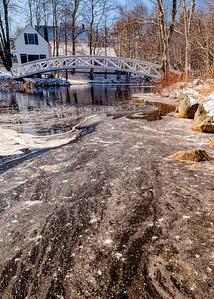 Winter at Somesville Bridge