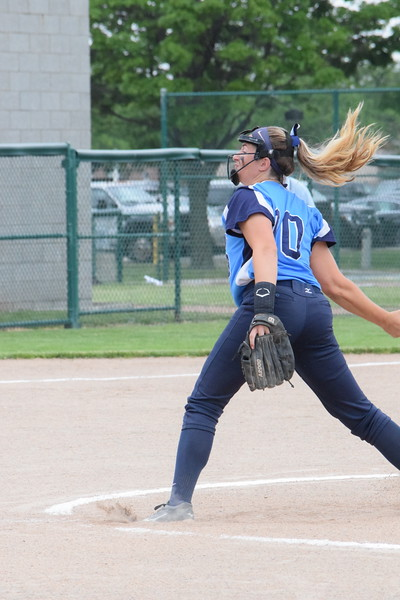 Regina beat Garden City, 13-0, to win a Division 1 softball state quarterfinal on June 12, 2018. THE MACOMB DAILY PHOTO GALLERY BY CHUCK PLEINESS