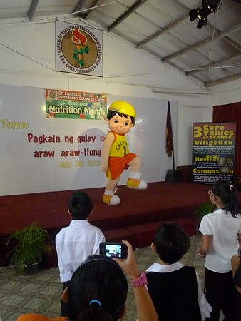 NUTRITION MONTH CELEBRATION SY 2012 - 2013