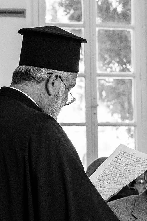 The priest | Vavla, Cyprus