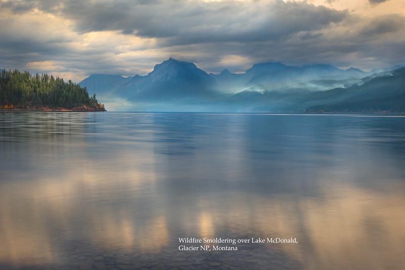 Glacier NP, Morning shoot at Lake McDonalds, West Glacier, Stormy clouds.  Visited Whitefish, Whitefish State Park and City beach.